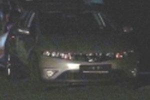 Toto je údajne auto, z ktorého vrah strieľal. Zostalo na ulici, páchateľ ušiel peši.