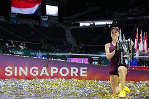 Ukrajinská tenistka Elina Svitolinová patrí medzi tých športovcov, ktorí zostali verní Ukrajine.