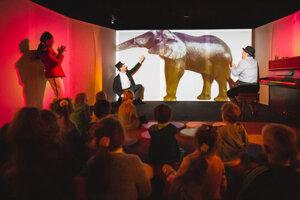 Najmenší cirkus je pre deti od nula do troch rokov.