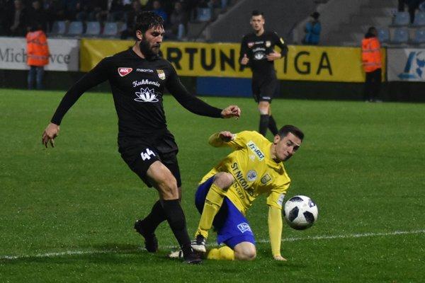 Jozef-Šimon Turík (vpravo) hrá momentálne vo výbornej forme.