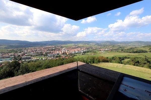 Pohľad z krupinskej Vartovky.