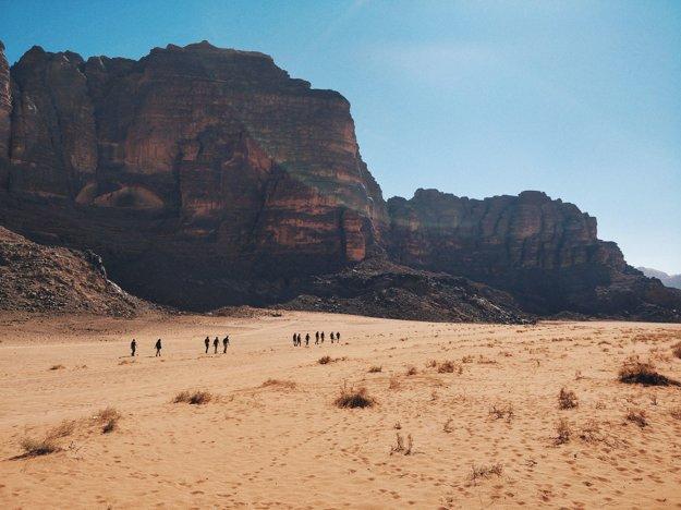Púšť Wadi Rum