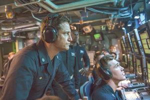 Gerard Butler ako kapitán ponorky vo filme Hunter Killer.