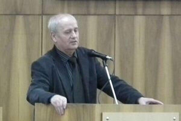 Staronový náčelník mestskej polície Jozef Vaneček.
