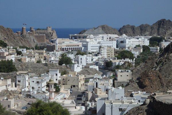 Muscat - hlavné mesto Ománu.