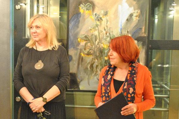 Autorka Soňa Herényiová – Belanová vystavuje v Starom divadle Karola Spišáka.