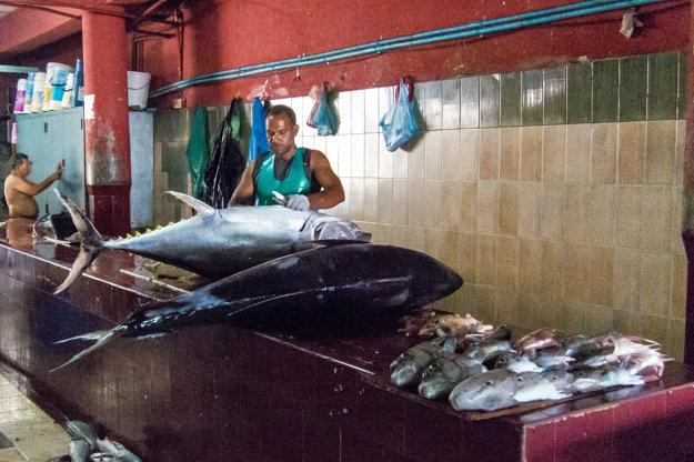 Ryby a dary mora sú miestne potraviny. Takmer všetko ostatné sa na Maledivy dováža.