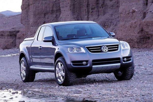 Koncept Volkswagen AAC z roku 2000 sa do výroby nedostal.
