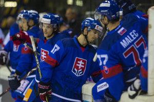 Slovenskí hokejoví reprezentanti na Nemeckom pohári 2018.