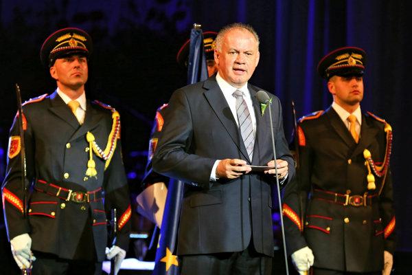 Prezident Andrej Kiska v Banskej Bystrici