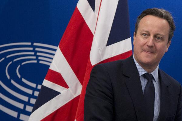 Britský premiér Cameron.