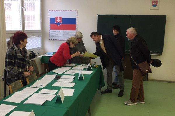 Komunálne voľby na Sídlisku III v Prešove.