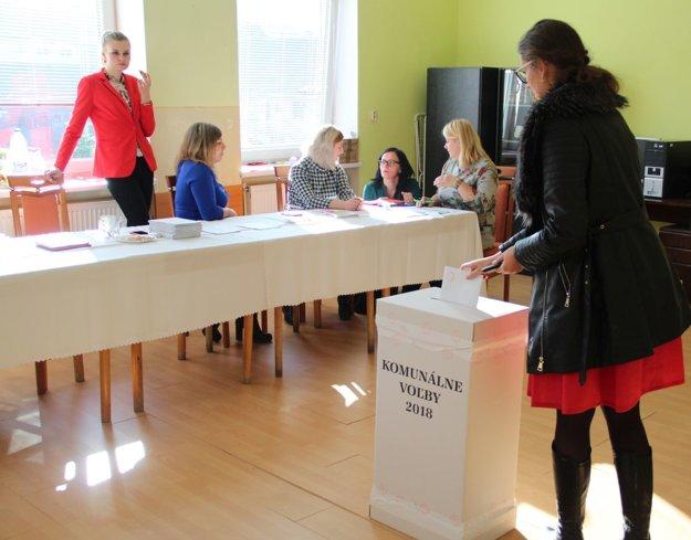 Voľby v Štefanove nad Oravou.