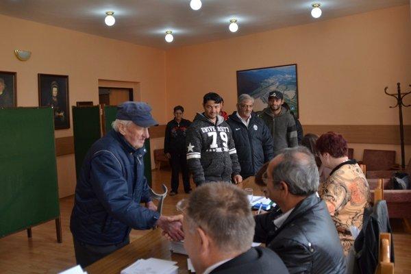 Komunálne voľby v Gemerskej Poloma. FOTO: PP
