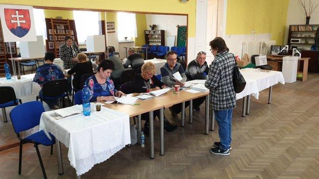Voľby v Tornali.