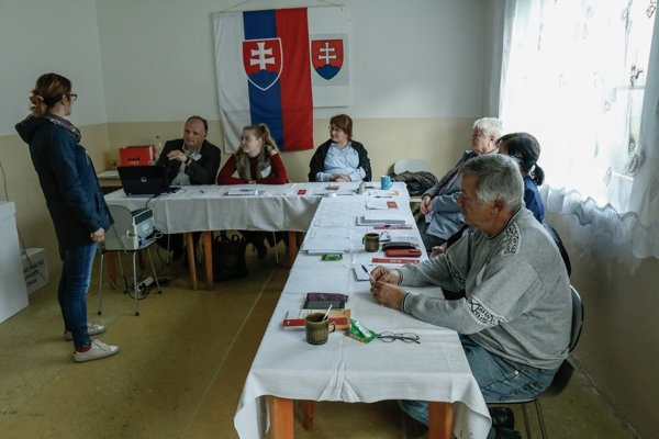 Takto sa dnes volilo v časti Žarnovice Revištské Podzámčie.
