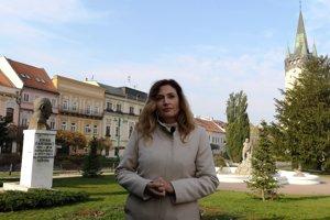 Andrea Turčanová (KDH) obhájila post primátorky.