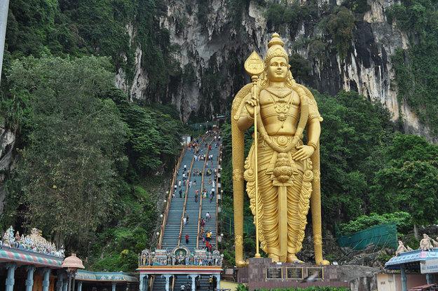 Batu Caves, Kuala Lumpur, Malajzia