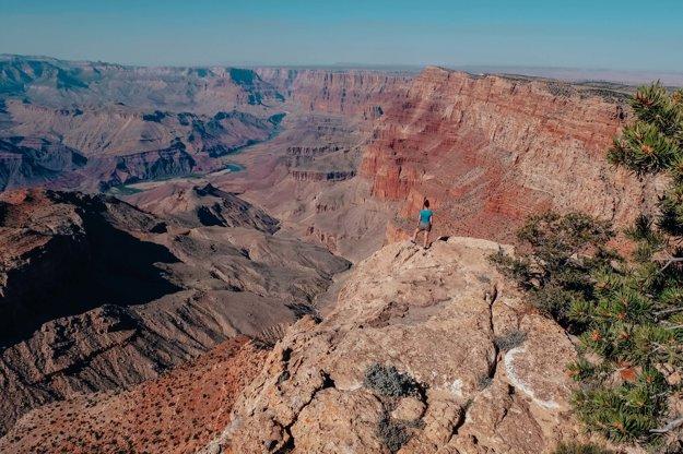 Počas road tripu po západnom pobreží USA – Grand Canyon.