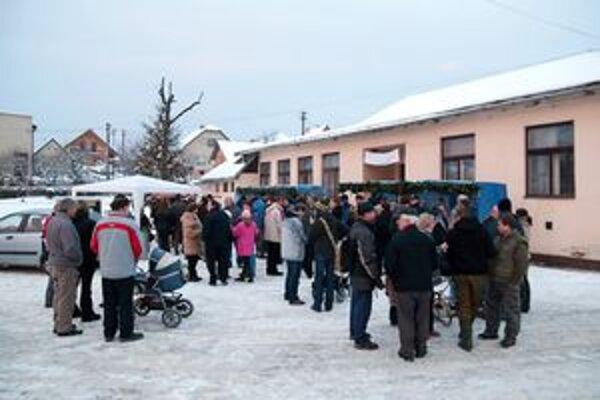 dobročinné trhy v Dolnom Moštenci