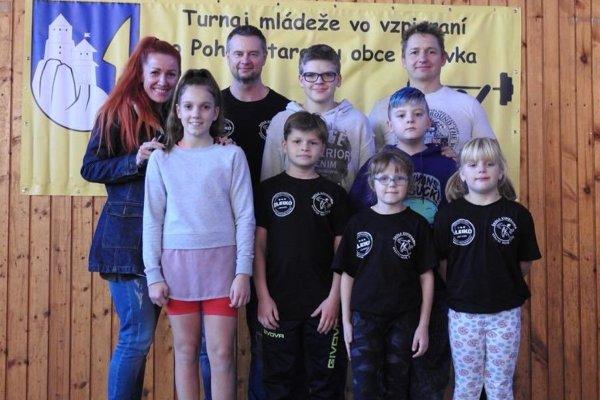 Vzpierači z Kysucké Nové Mesta.