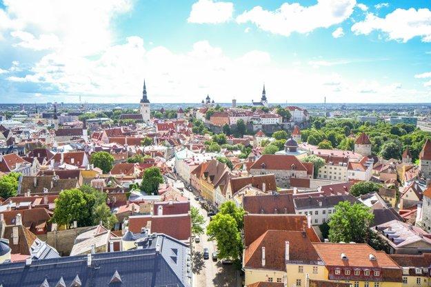 Tallin, Estónsko.