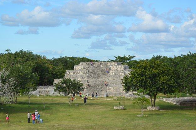 V Cancúne a okolí môžete obdivovať mayské ruiny.