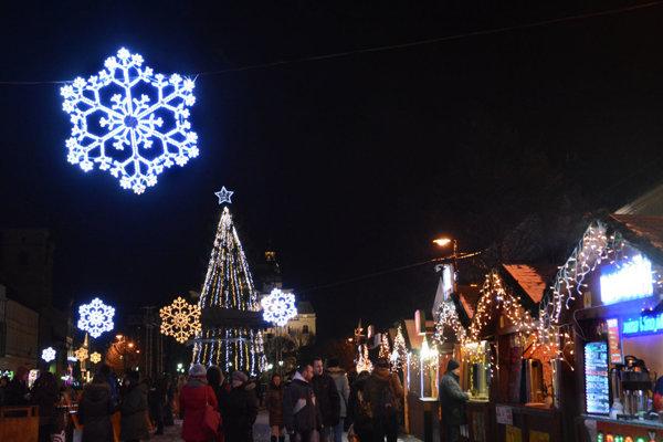 Vianočný program v centre Košíc sa začne 5. decembra.