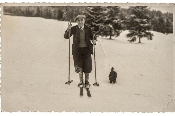 História lyžovania siaha až do kamennej doby.