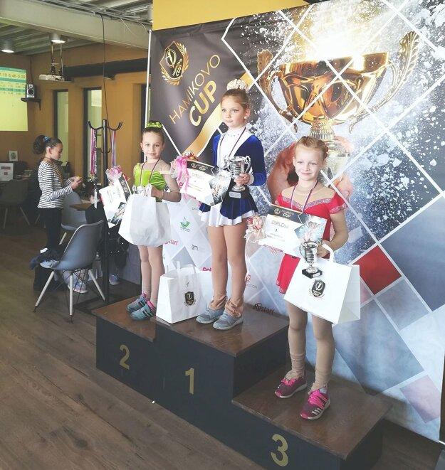 Z Hamuliakova si priviezli striebro a bronz Belobradová s Kaňkovou.