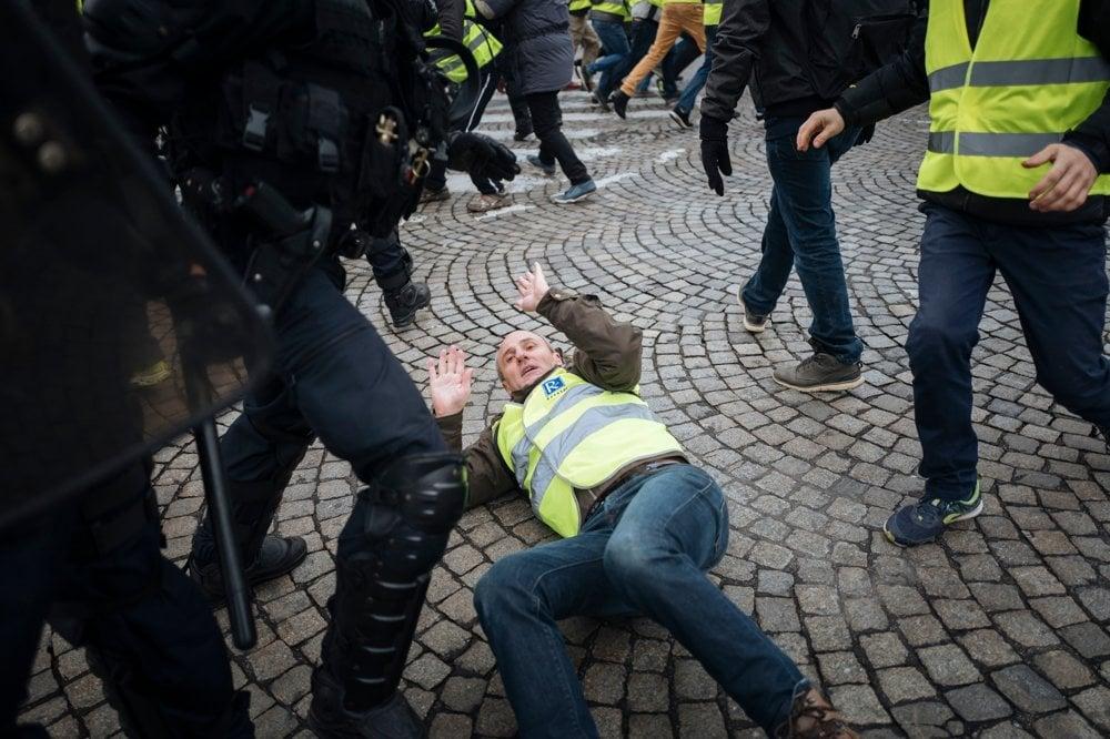5319cf51743 Protesty v Paríži - fotogaléria - svet.sme.sk - svet.sme.sk