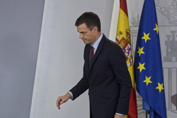 Premiér Pedro Sanchez