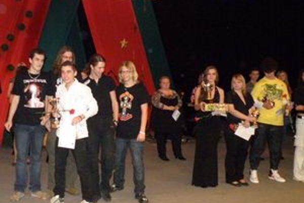 Možnosť nahrať vlastné CD dostal Lukáš Trautenberger z Lubiny, ktorý sa predstavil s vlastnou skladbou a kapelou.