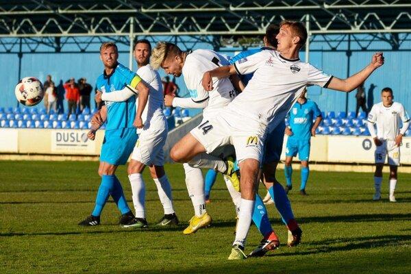 Snímka z duelu Šaľa - FC Nitra jun. (1:1).