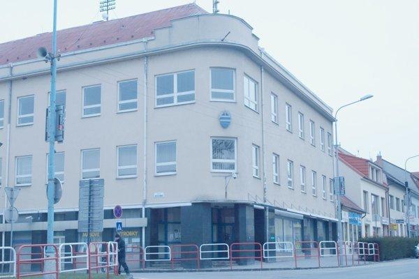 Mestský úrad v Hlohovci.