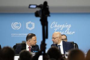 Poľský prezident Andrzej Duda (vľavo).