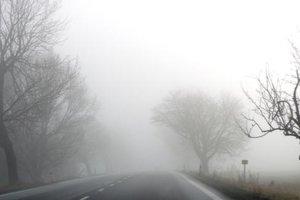 Na mnohých miestach si treba dávať pozor na hmlu.