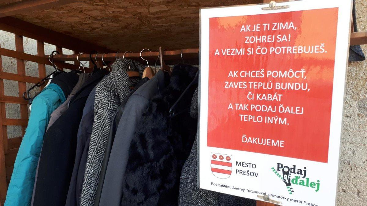 Ľuďom bez domova v Prešove opäť pomôže Vešiak pomoci - presov.korzar ... 2e63811a1a7