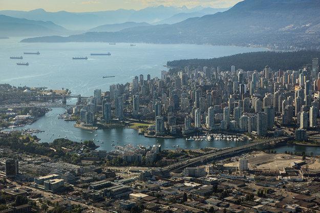 Kanadský Vancouver je najlepšie hodnoteným mestom na americkom kontinente.