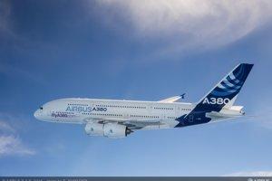 1. najdrahšie lietadlo sveta: Airbus A380 stojí 445,6 milióna eur.