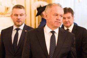 Prezident Andrej Kiska o ministrovi Lajčákovi stále nerozhodol.