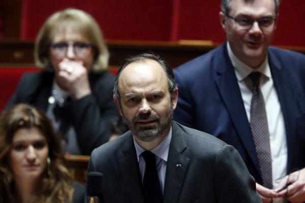 Francúzsky premiér Edouard Philippe.