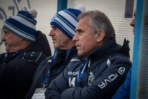 Tréner Lokomotívy Bohumil Andrejko (vpravo) bude na pôsobenie v klube spomínať v dobrom.