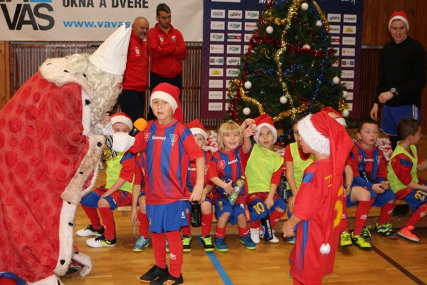 Sedemročné futbalové nádeje pri Mikulášovi