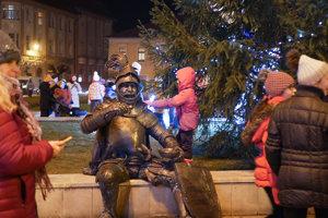 Bombura - naozaj netradičný darček pre obyvateľov Brezna.