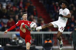 Momentka zo zápasu Bayern Mníchov - Norimberg.