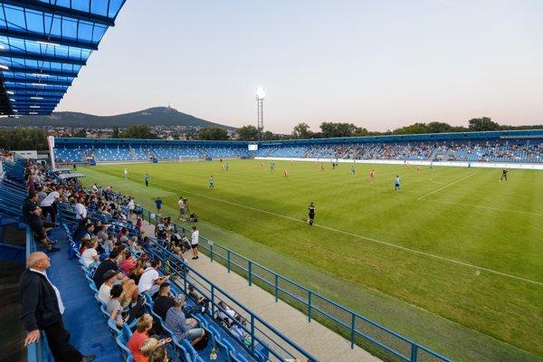 Štadión v Nitre.