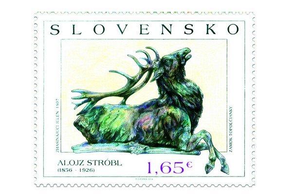 Najkrajšiu poštovú známku navrhol a vytvoril Rudolf Cigánik.