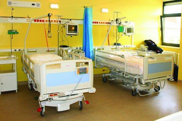 Súčasne môžu prijať a liečiť štyroch pacientov v akútnom stave.