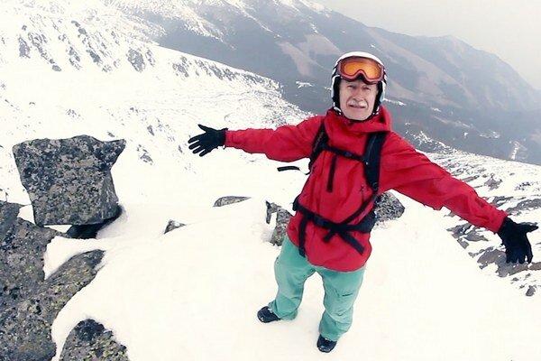 Film o snowboardistovi Milošovi Kmeťkovi videli tisícky ľudí.